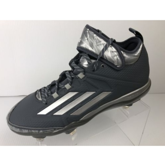 cheaper ed358 bce7c Adidas Dual Threat Litestrike Mid Baseball Cleats